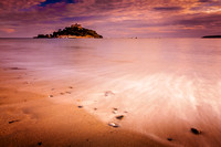 St Michaels Mount at sunset
